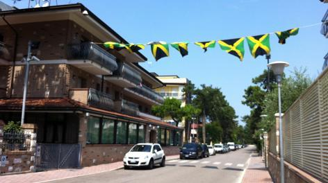 L'hotel di Asafa Powell e Sherone Simpson a Lignano Sabbiadoro. Ansa