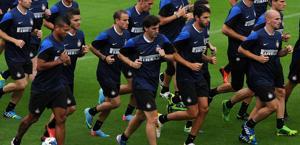 L'Inter al lavoro a Pinzolo. Liverani