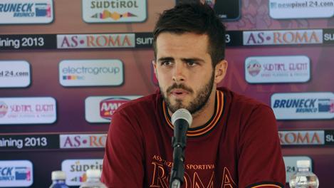 Mirlalem Pjanic, 23 anni. Ansa