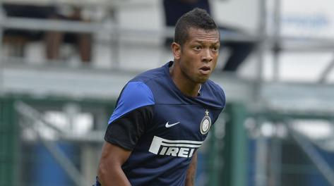 Fredy Guarin, terza stagione all'Inter. LaPresse
