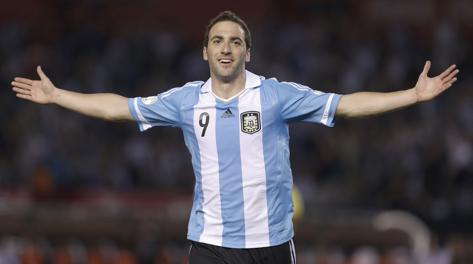Gonzalo Higuain, 25 anni.
