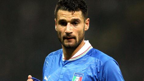 Antonio Candreva, 26 anni, esterno della Nazionale e della Lazio. Forte