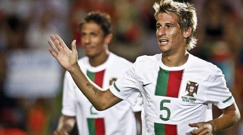 Fabio Coentrao, 25 anni. Epa