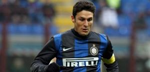 Javier Zanetti è alla 19esima stagione con l'Inter. Archivio