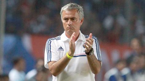 Josè Mourinho, 50 anni, è stato all'Inter dal 2008 al 2010. Epa