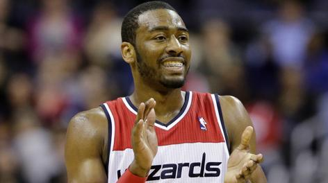 John Wall, 22 anni, play dei Washington Wizards. Ap