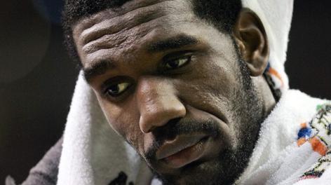 Greg Oden, 25 anni, è il nuovo centro dei Miami Heat. Reuters