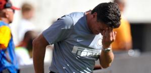 Walter Mazzarri, tecnico dell'Inter. Reuters