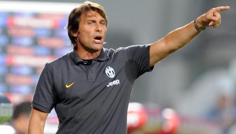 Antonio Conte, 44 anni, allena la Juve dal 2011. Ansa