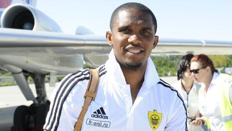 Samuel Eto'o è in Russia dal 27 agosto 2011. Ansa
