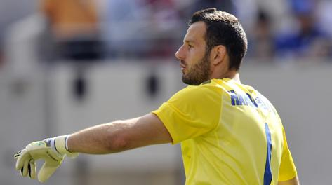 Samir Handanovic, portiere sloveno dell'Inter. Usa Today