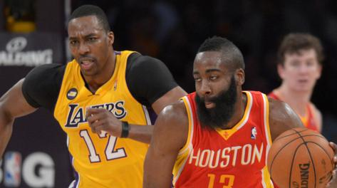 Dwight Howard e James Harden, nuova coppia d'oro di Houston. Usa Today Sports