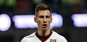Valter Birsa, centrocampista del Genoa l'anno scorso al Torino. Forte