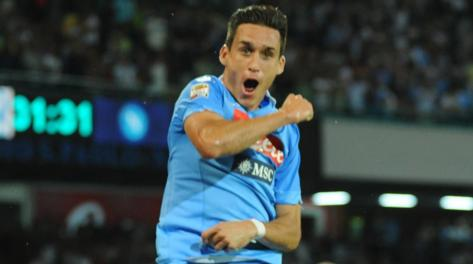Jose Maria Callejon, 26 anni, ex Real Madrid. Ansa