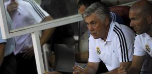 La preoccupazione di Carlo Ancelotti. Afp