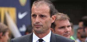 Massimiliano Allegri, tecnico del Milan. LaPresse