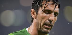 Gigi Buffon, 35 anni, da 13 alla Juve. LaPresse
