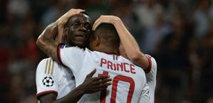 Balotelli e Boateng: hanno fatto la differenza. Afp