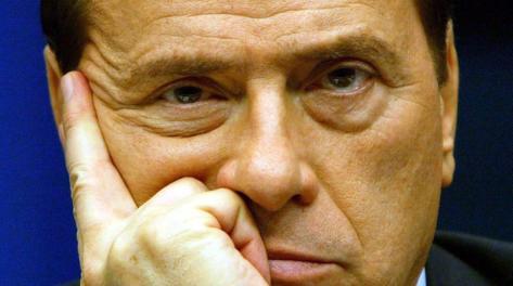 Silvio Berlusconi, 76 anni, presidente del Milan. Epa