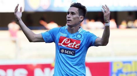 José Maria Callejon, 26 anni, 2 gol in 2 partite. Ansa