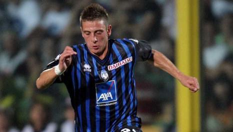 Leonardo Pettinari, 27 anni, con la maglia dell'Atalanta. LaPresse