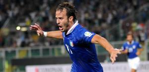 Alberto Gilardino, 19 gol per l'Italia. Ap
