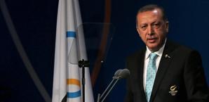Erdogan parla al Congresso Cio. Epa