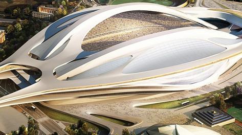 Il progetto dello stadio olimpico