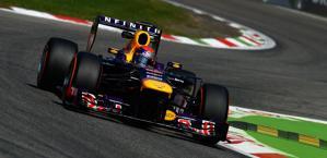 Sebastian Vettel, leader del mondiale. Colombo