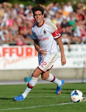 Chiude la top-ten Ricardo Kakà. 4 mln a stagione per il centrocampista del Milan. Epa