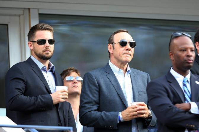 Tra il pubblico anche Kevin Spacey. Afp