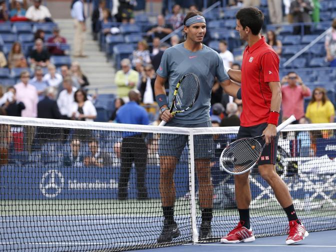 Tra Nadal e Djokovic è la sfida numero 37: 21 le vittorie dello spagnolo, 15 quelle del serbo. Reuters