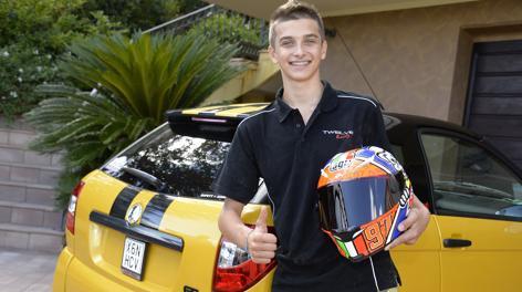 Luca Marini, 16 anni. Milagro