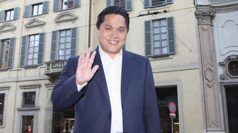 Il magnate indonesiano Erick Thohir ANSA