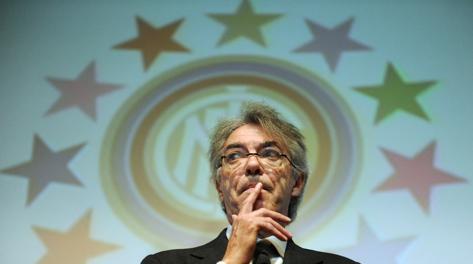Massimo Moratti, 68 anni, presidente dell'Inter dal 1995. Ansa