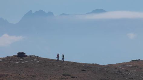 Suan Selenati e Manuel Vezzi dopo 40 giorni hanno raggiunto il Monte Olimpo.