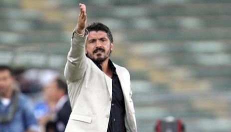 Dopo 6 gare termina l'avventura a Palermo di Gattuso. LaPresse