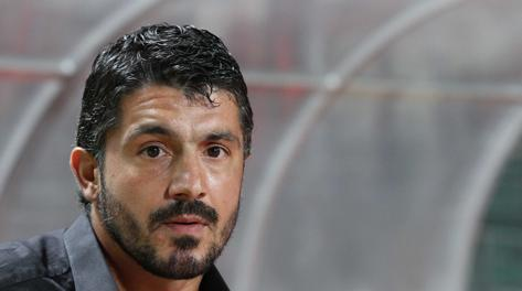 Rino Gattuso interdetto, l'esperienza a Palermo è finita troppo presto. LaPresse