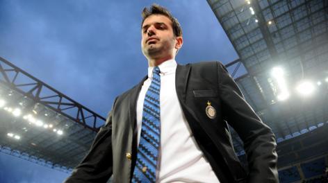 Andrea Stramaccioni, 37 anni, un anno e due mesi sulla panchina dell'Inter. Ansa