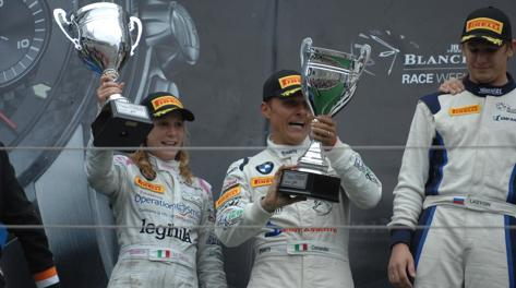 Michela Cerruti e Stefano Comandini al Nurburgring