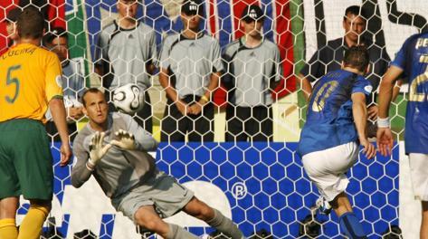 Germania 2006: il rigore vincente contro l'Australia. Ap