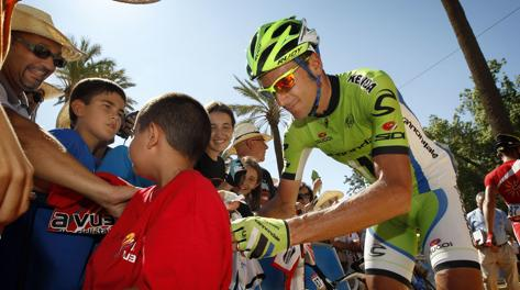 Ivan Basso, 35 anni. Bettini