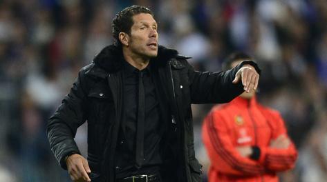 Diego Simeone, 43 anni, all'Atletico Madrid dal 2011. Afp