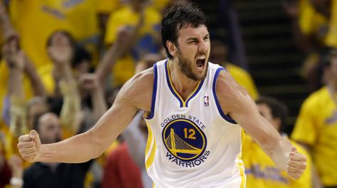 Andrew Bogut, 28 anni, a Golden State dal marzo 2012. Ap
