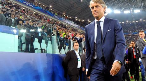 Roberto Mancini, nuovo tecnico del Galatasaray. Ap