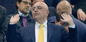 Adriano Galliani, a.d. del Milan. Ansa