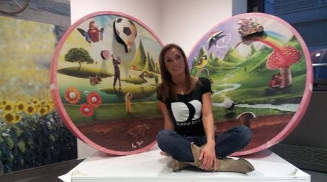 Annalisa Minetti ospite in Gazzetta
