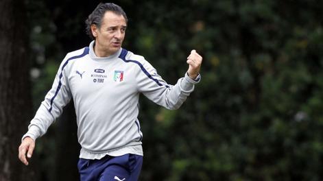 Cesare Prandelli, 56 anni, c.t. azzurro. LaPresse