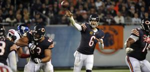 Jay Cutler: 262 yard e 2 td contro i Giants. Usa Today