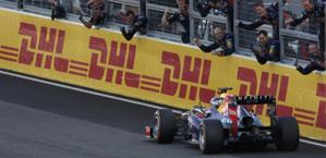 Vettel, nona vittoria del 2013. Reuters
